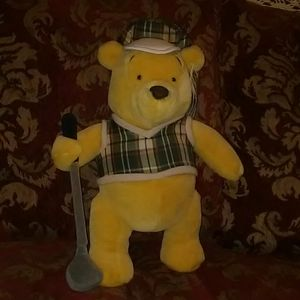 Walt Disney Winnie The Pooh Golfer